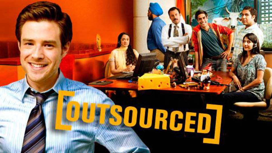 Image result for outsourced tv show