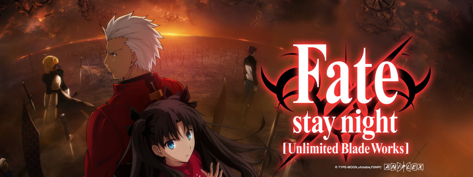Fate Stay Night Unlimited Blade Works TV Series Checking In Just Before