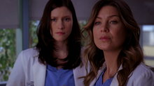 Grey's Anatomy: No Good at Saying Sorry