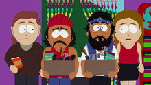 South Park: Cherokee Hair Tampons