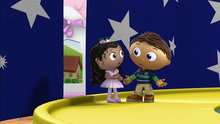Super Why!: Molly's Dance Show (Woofster Finds a Home & Other Stories)