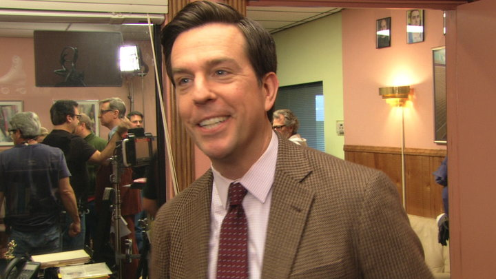 The Office - Ed Helms Talks Roseanne