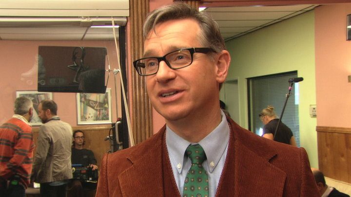 The Office - Guest Star Paul Feig On Stairmageddon