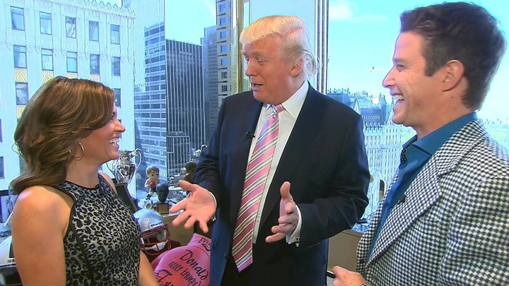 Access Hollywood - Donald Trump Dishes On Celebrity Apprentice