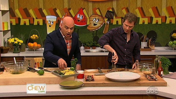 The Chew - Bobby Flay Heats up the Kitchen, Part 2