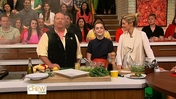 The Chew - Kiernan Shipka Gets Grilling, Part 2