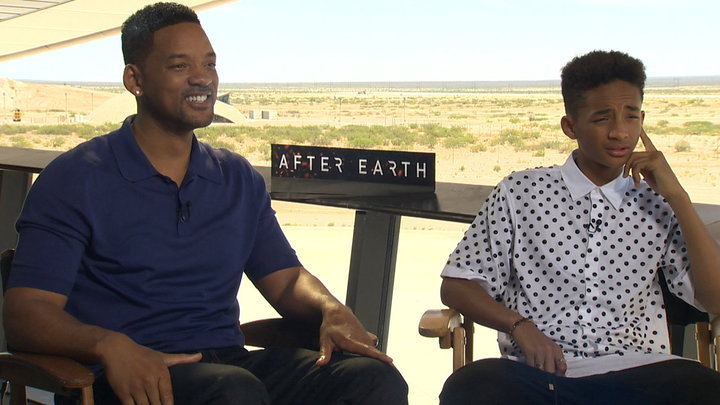 Access Hollywood - Will Smith & Jaden Smith Take On After Earth