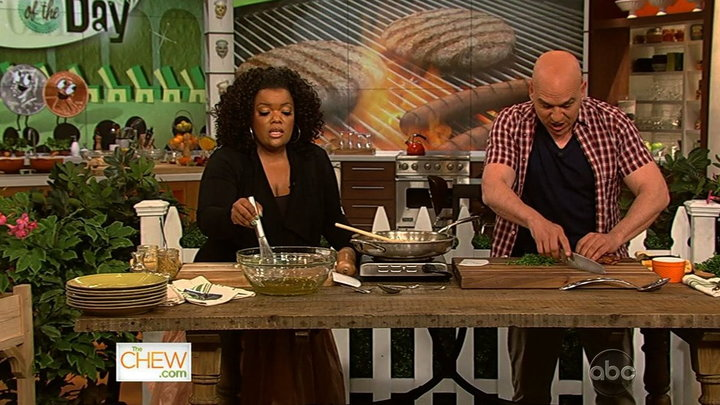 The Chew - Yvette Nicole Brown Gets Grilling, Part 2