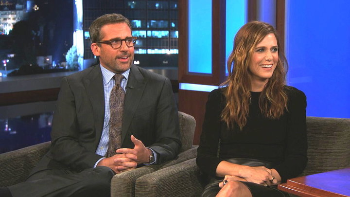 Jimmy Kimmel Live - Steve Carell & Kristen Wiigs New Movie