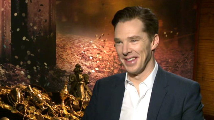 MTV News - Benedict Cumberbatch Likes to Get Cheeky