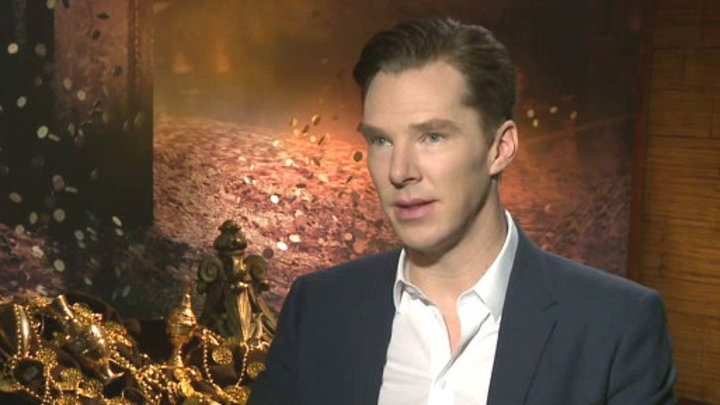 MTV News - Benedict Cumberbatch On Being Smaug