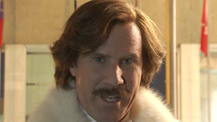 MTV News - On the Set: Anchorman 2 the Legend Continues