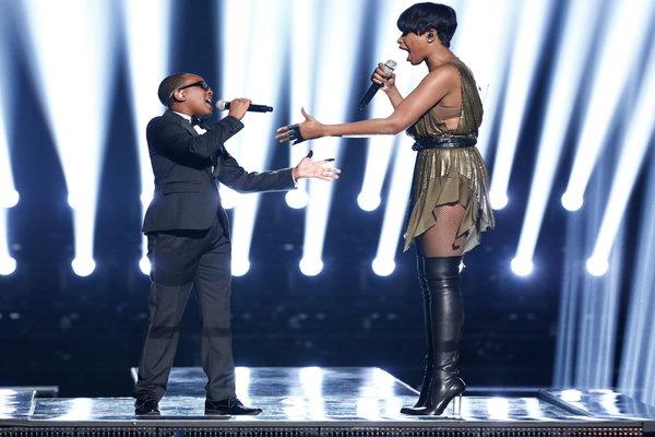 America's Got Talent: Quintavious Johnson and Jennifer Hudson