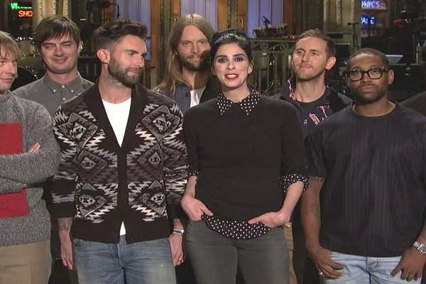 Saturday Night Live: SNL Promo: Sarah Silverman and Maroon 5