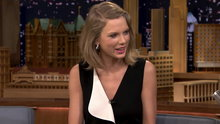 Taylor Swift on The Tonigh Show with Jimmy Fallon